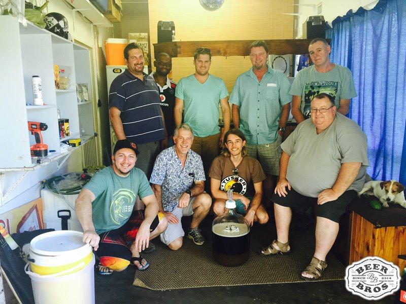 BeerBros Brewday 2 - The Crew