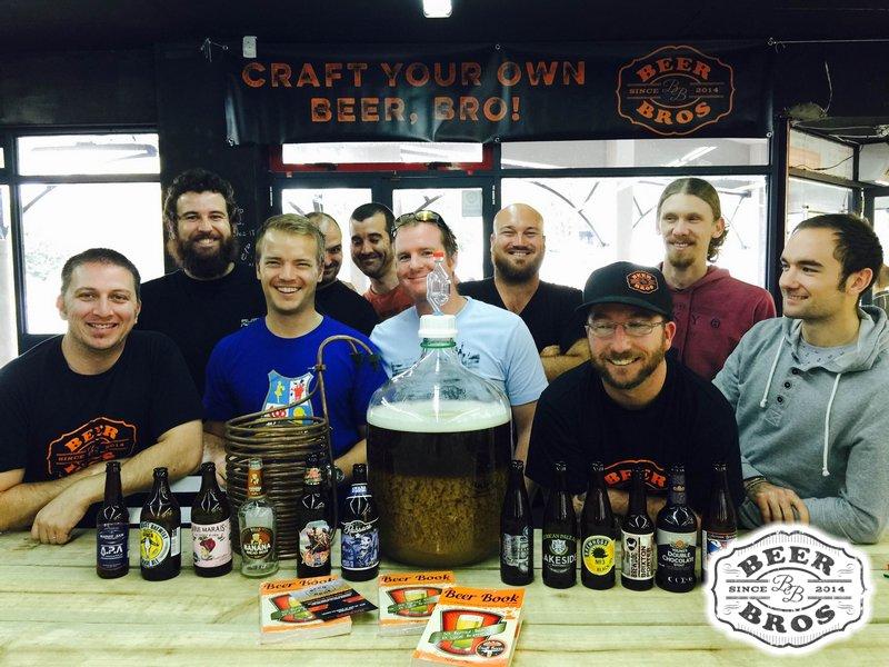 Beerbros Brewday 3 Group