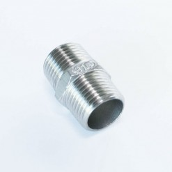 Stainless Steel BSP Hex Nipple
