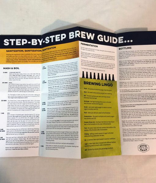 BeerBros Brew In A Box - Pamphlet 2