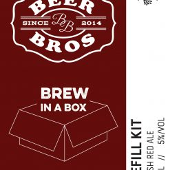 Brew In A Box - refill - irish red