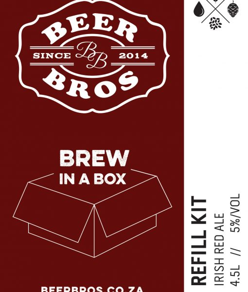 Brew In A Box – refill – irish red