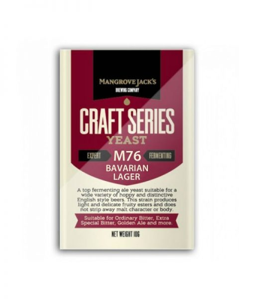 Mangrove Jacks Bavarian Lager Yeast M76
