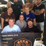 Beerbros Brewday 3 - Group In Window